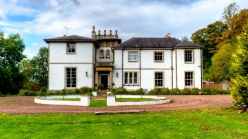 Front of Kirkhill Mansion